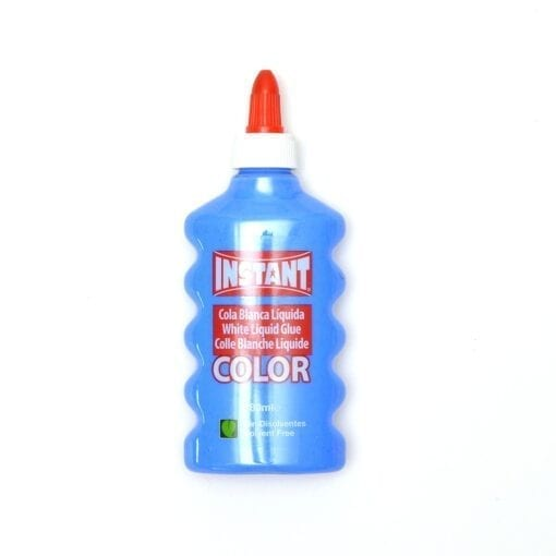 Blå Color Glue Slime PVA Lim