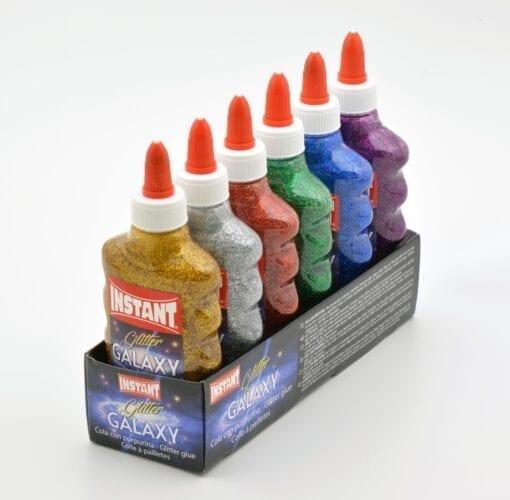 111723 6-Pack Galaxy Glue Slime PVA Lim