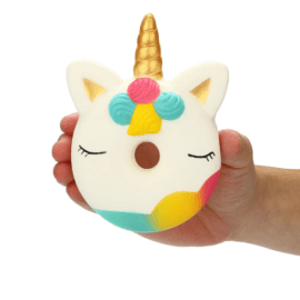 Squishy Jumbo Donut Unicorn