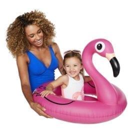 Liten Flamingo Badring