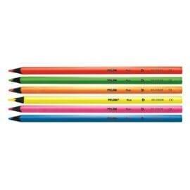 Milan Blyertspennor fluorescerande färg