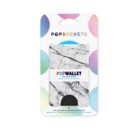 POPSOCKETS korthållare PopWallet vit marmor