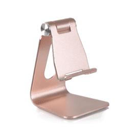 DESIRE2 Skrivbordsställ i roséguld för mobil och surfplatta