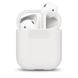 ELAGO Silikonfodral för Apple AirPods vit