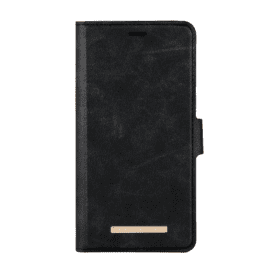 ONSALA COLLECTION Plånboksfodral Midnight Black till Apple Iphone XS Max