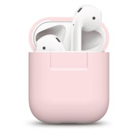 ELAGO Silikonfodral för Apple AirPods rosa