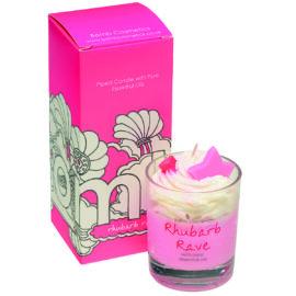 Doftljus Rhubarb Rave - Bomb Cosmetics