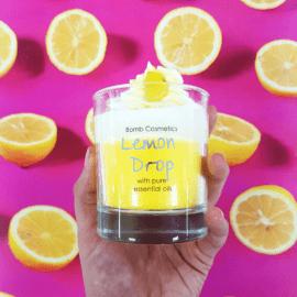 Doftljus Lemon Drop - Bomb Cosmetics