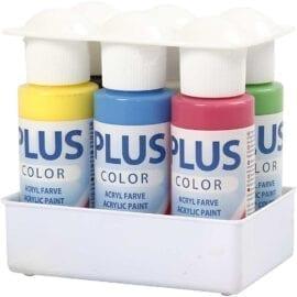 Plus Color Färgskola Primärfärger 6-pack