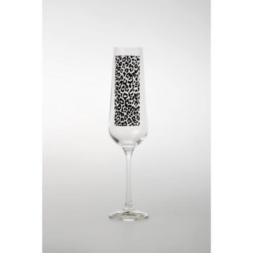 Champagneglas Leopard 2-pack Sandstrom & Sandstrom – Kollektion Wildlife