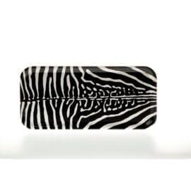 Bricka Zebra Liten Rektangulär Sandstrom & Sandstrom – Kollektion Wildlife
