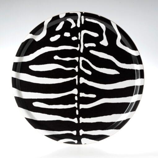 Bricka Zebra Rund Sandstrom & Sandstrom – Kollektion Wildlife
