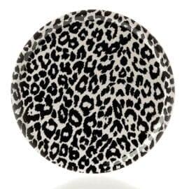 Bricka Leopard Rund Sandstrom & Sandstrom – Kollektion Wildlife
