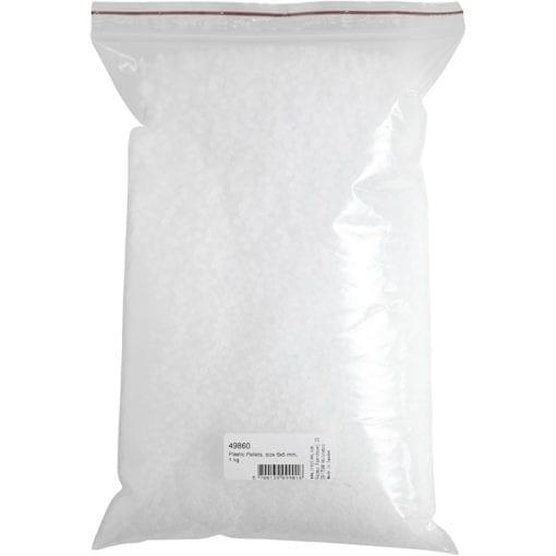 111914-1 Pärlor Plastgranulat Slushee Beads 1 kg - Slime Dekorationer