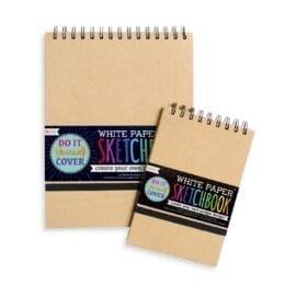 OOLY White DIY Cover Sketchbook