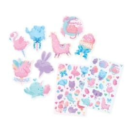 OOLY Fluffy Cotton Candy Scented Stickers