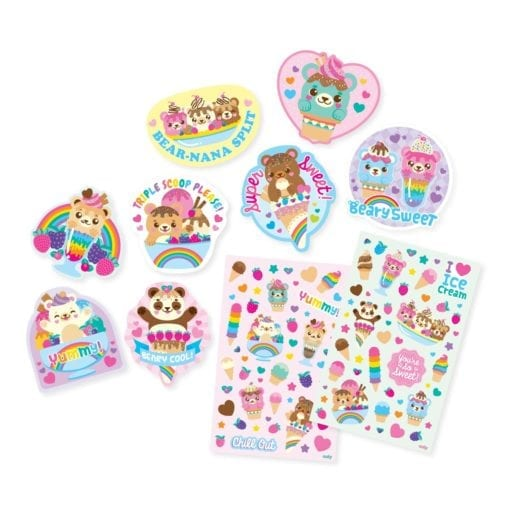 OOLY Beary Sweet Scented Stickers