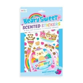 111944 OOLY Luktisar Beary Sweet Berry Scented Stickers