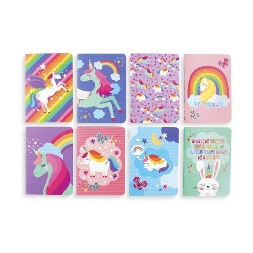 OOLY Pocket Pal Journals - Unique Unicorns - set of 8