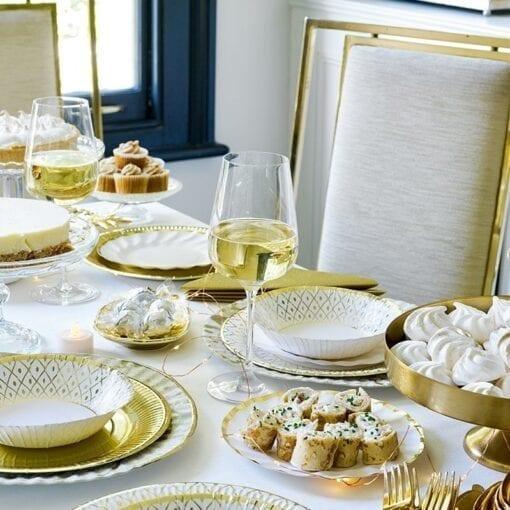 Papperstallrikar Guld – Party Porcelain