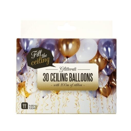 Party Ballonger Metallic - Glitterati