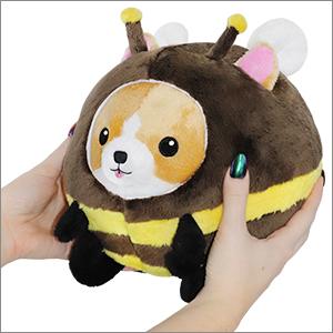 Mini Squishable Undercover Corgi in Bee Suit - 18 cm