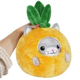 111969 Mini Squishable Undercover Kitty in Pineapple Suit - 18 cm