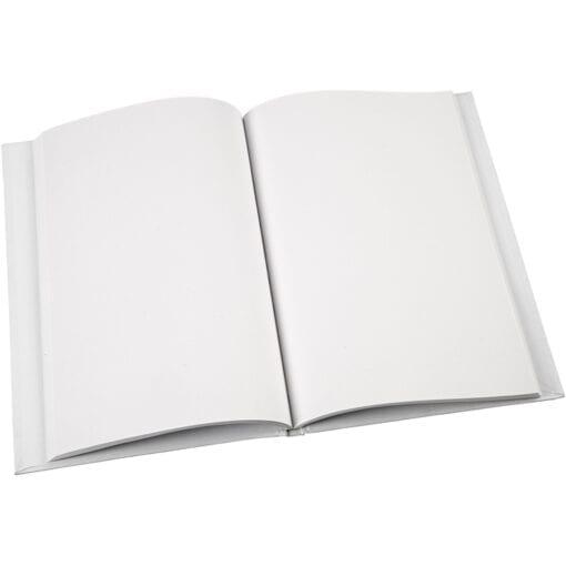 Skissbok Vit Blank Yta A5 15x21 cm