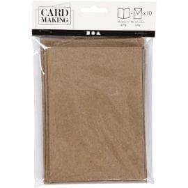 Kort & Kuvert Kvist 10.5x15 cm 10-pack