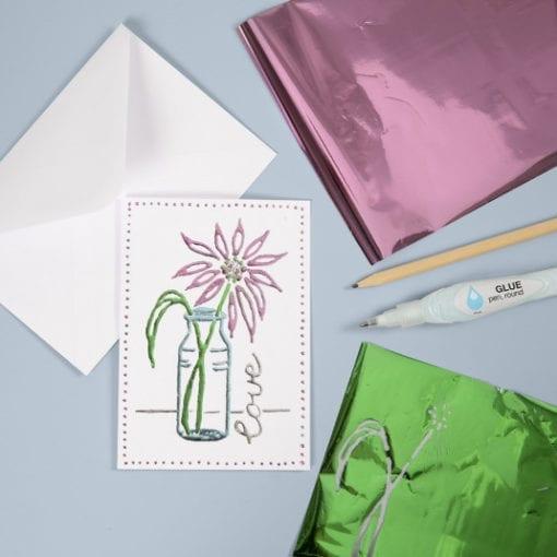 Kort & Kuvert Vit 10.5x15 cm 6-pack