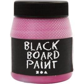 Skoltavelfärg Rosa Black Board Paint