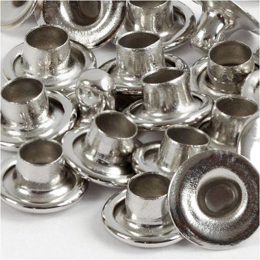 Hålnitar Silver