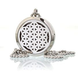 Halsband Aromaterapi Flower of Life 25 mm