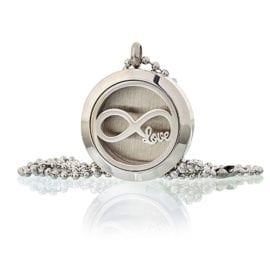Halsband Aromaterapi Infinity Love 25 mm