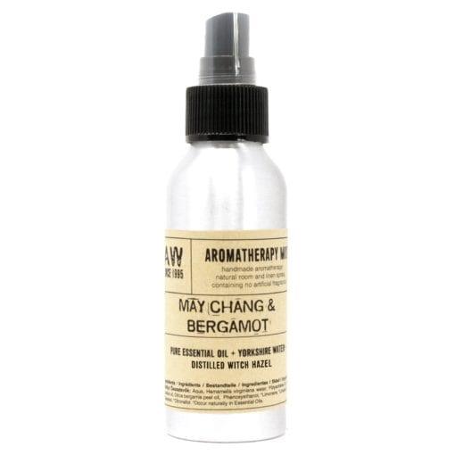 Doftspray Aromaterapi Eterisk Olja May Chang & Bergamot 100 ml - Ancient Wisdom
