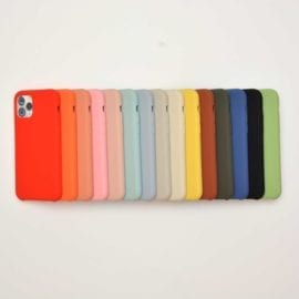 112116 HS Silicone Case iPhone 11 Pro Max