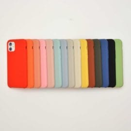 HS Silicone Case iPhone 11