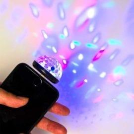 112130-1 Discolampa Liten För iPhone Mobiltelefon