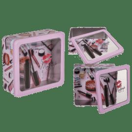 112133 Make Up Box Metall