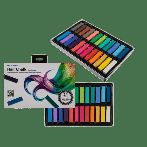 112136 Hårkritor Hair Chalk 24 Färger