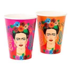 112139 Pappersmuggar Boho Frida Kahlo