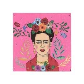 112140 Servetter Boho Frida Kahlo