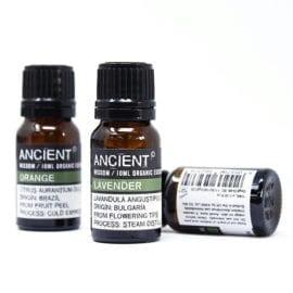 112149 Ekologiska Eteriska Oljor för Aromaterapi 10 ml - Ancient Wisdom