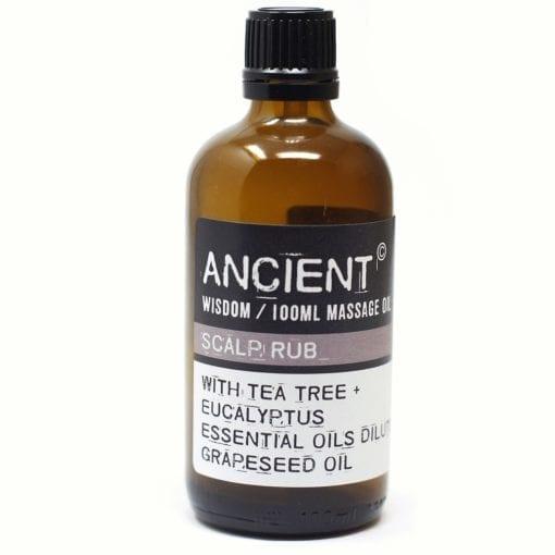 112150-12 Scalp Rub Eteriska Kropps- Och Massageoljor För Aromaterapi 100 ml - Ancient Wisdom