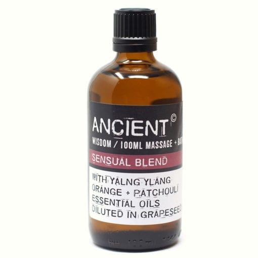 112150-2 Sensual Blend Eteriska Kropps- Och Massageoljor För Aromaterapi 100 ml - Ancient Wisdom
