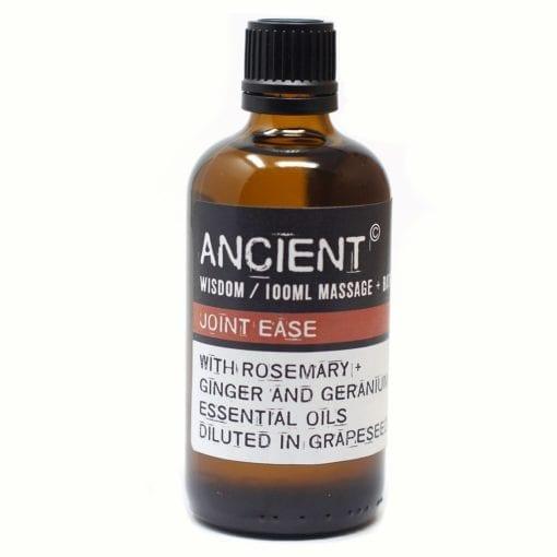 112150-5 Joint Ease Eteriska Kropps- Och Massageoljor För Aromaterapi 100 ml - Ancient Wisdom