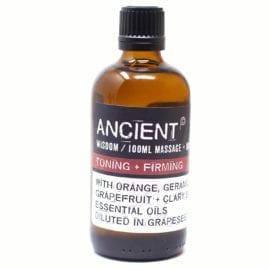 112150-8 Toning, Firming Och Massageoljor För Aromaterapi 100 ml - Ancient Wisdom