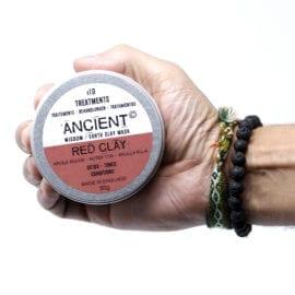 112151-1 Ansiktsmask Röd Kaolinlera 80 gram - Ancient Wisdom