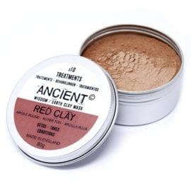 112151 Ansiktsmask Röd Kaolinlera 80 gram - Ancient Wisdom