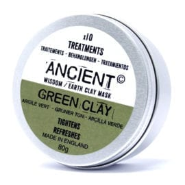112152-1 Ansiktsmask Grön Illite Lera 80 gram - Ancient Wisdom